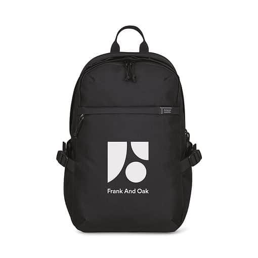 Renew rPET Computer Backpack - Black