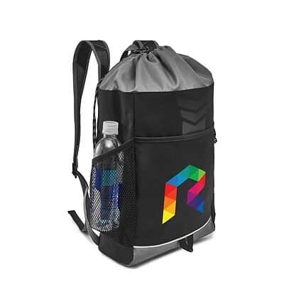 Riptide Drawstring Backpack - Seattle Grey