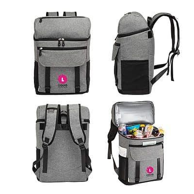 Logan RPET 18-Can Backpack Cooler